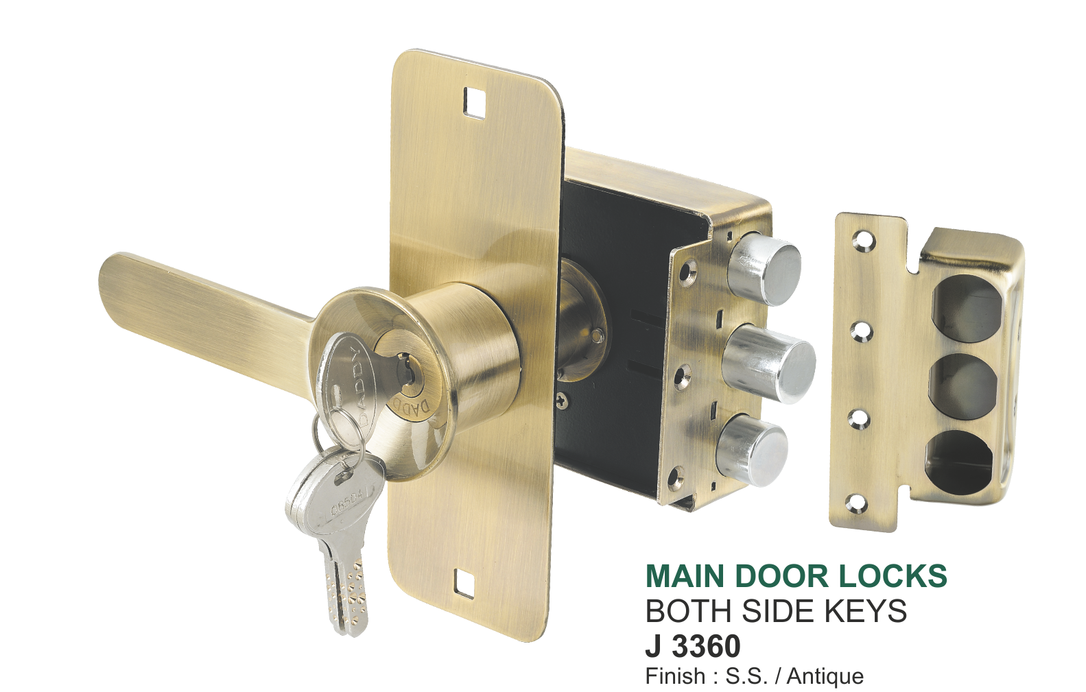 Broad Main Door Lock From Daddy 174