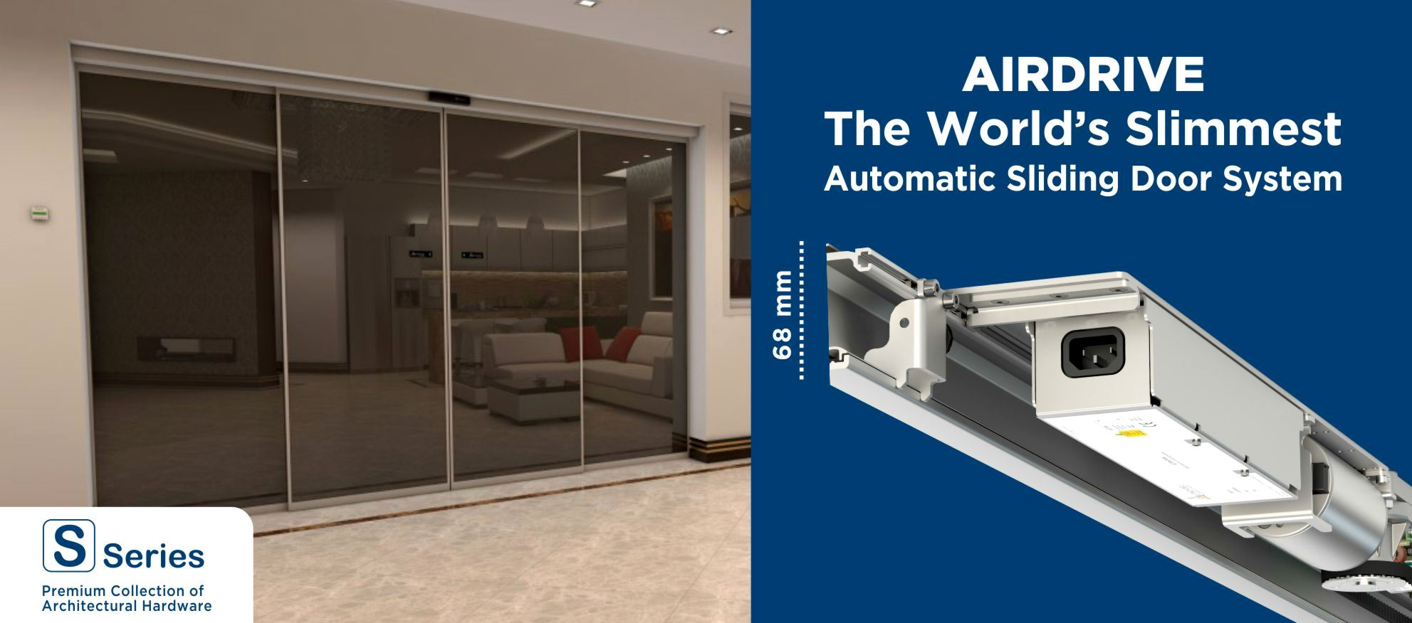 Worlds Slimmest Automatic Sliding Door System Launched By Ozone