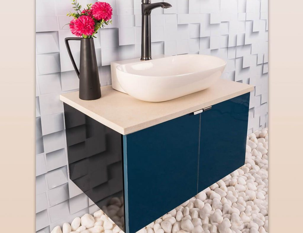Modern Vanity Cabinets from TUSKER INDIA