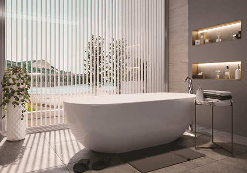 JAQUAR's Freestanding Bathtubs