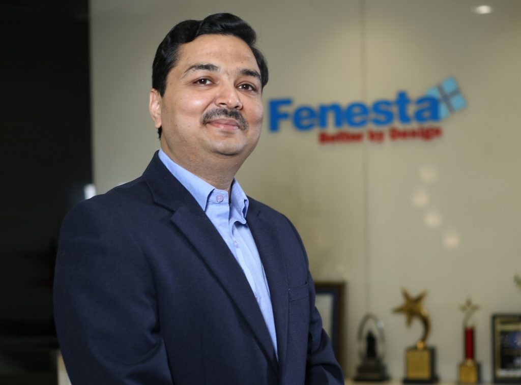 Saket Jain, business head, Fenesta