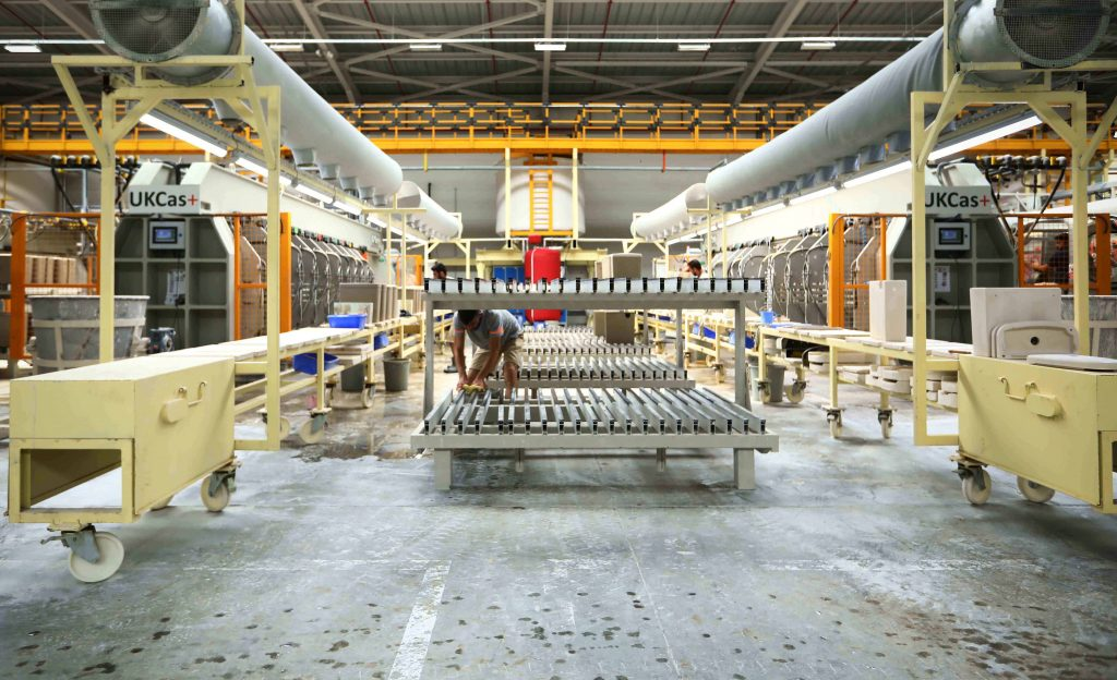 VitrA's 4th Production Line for Export