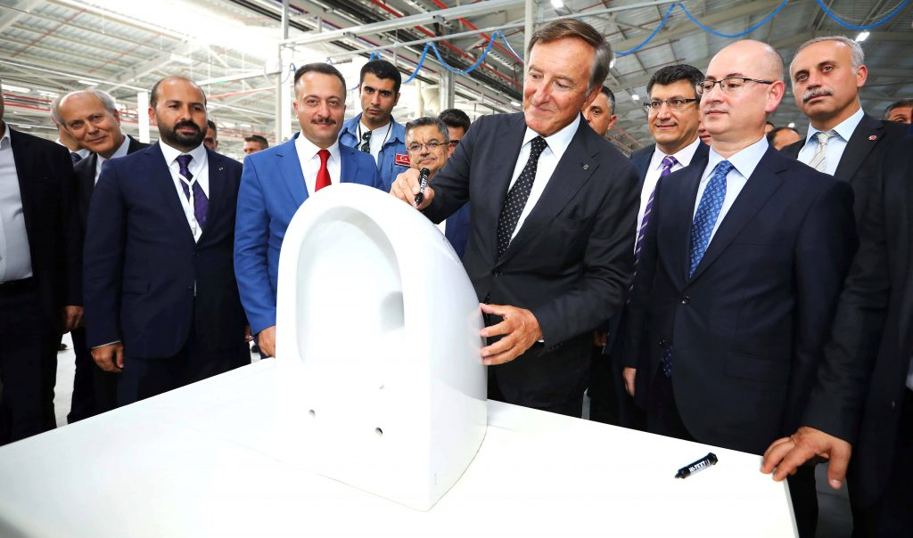 VitrA Opens 4th Production Line for Export Markets